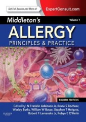 Middleton's Allergy, 8/e (2vol. set)